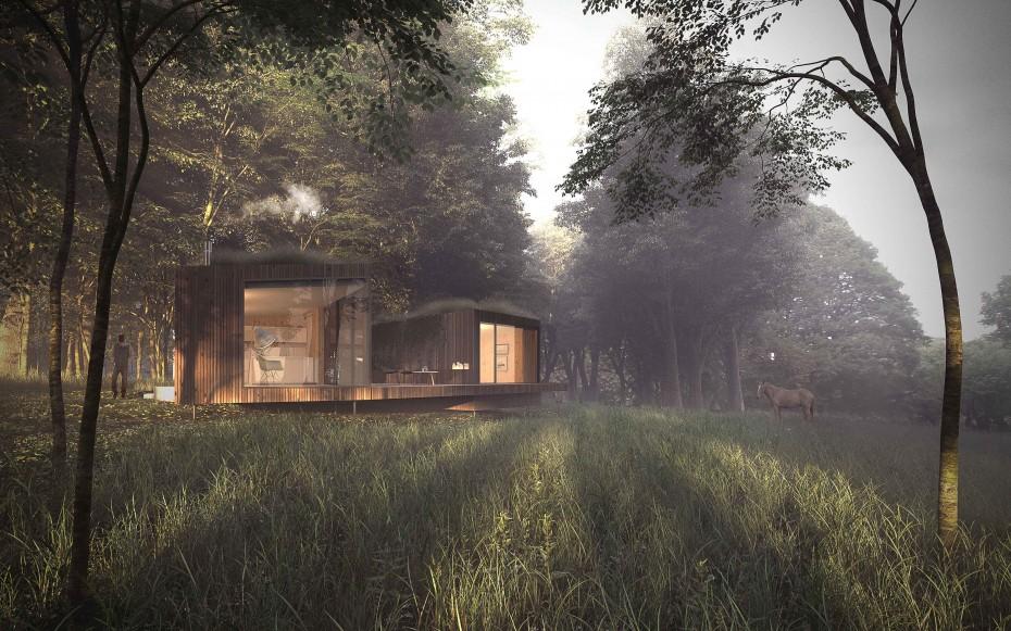 la cabane fuso. Black Bedroom Furniture Sets. Home Design Ideas